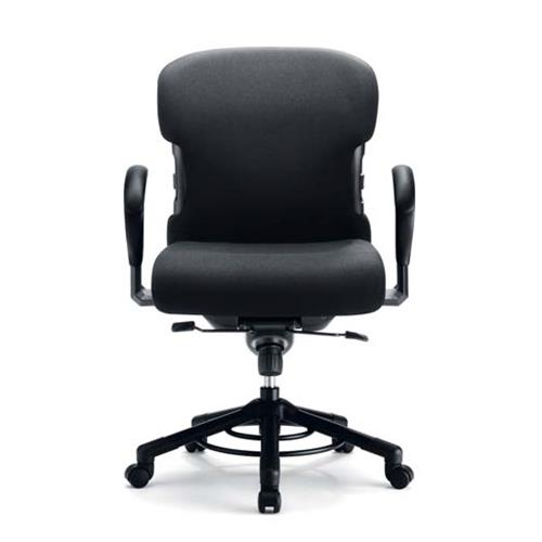 Ruote Per Sedia Da Ufficio.Sedia Da Ufficio Girevole Per Obesi Con Ruote Portata 200 Kg
